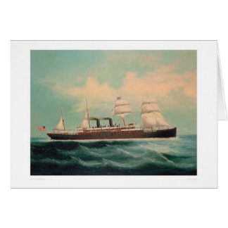 Steamship S.S. China (1614A) Greeting Cards