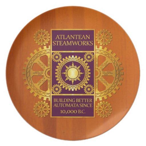 Steamworks-Oro de la Atlántida y púrpura en la mad Platos