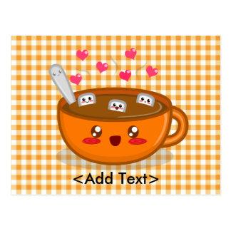 Steamy Hot Chocolate Postcard