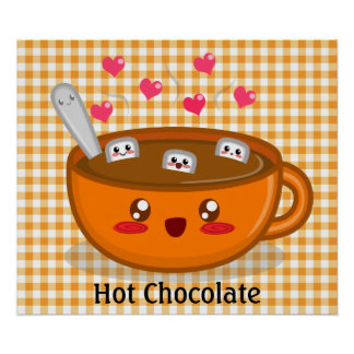 Steamy Hot Chocolate Poster