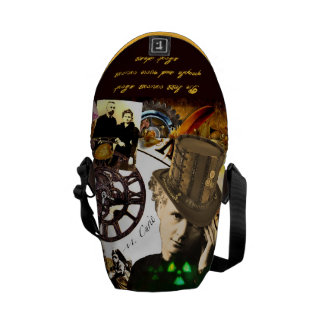 Steamy Marie Messenger Bags