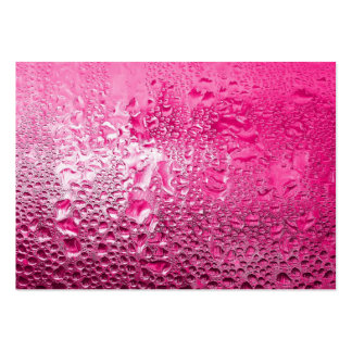 Steamy Pink Large Business Card