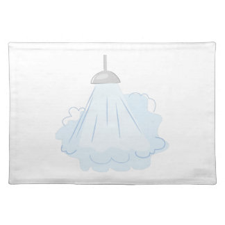 Steamy Shower Cloth Placemat