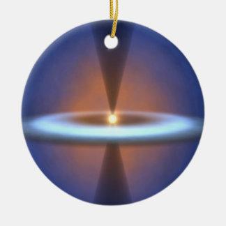 Steamy Solar System Christmas Ornaments