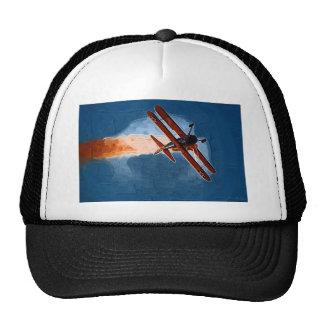 Stearman Biplane Mesh Hats