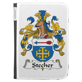 Stecher Family Crest Kindle Cases