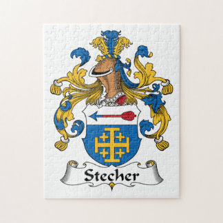 Stecher Family Crest Puzzles