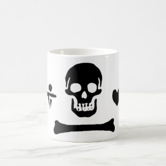 Stede Bonnet authentic pirate flag Classic White Coffee Mug