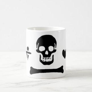 Stede Bonnet authentic pirate flag Coffee Mug