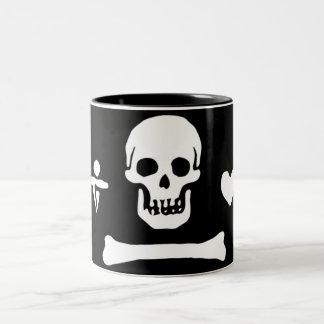 Stede Bonnet authentic pirate flag Mug