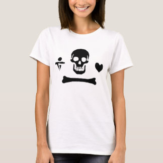 Stede Bonnet authentic pirate flag T-Shirt