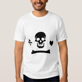 Stede Bonnet authentic pirate flag Tee Shirt