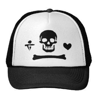 Stede Bonnet authentic pirate flag Trucker Hat