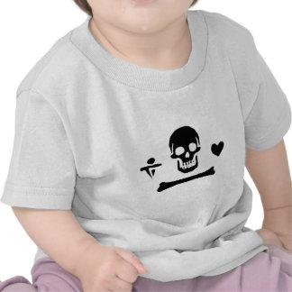 Stede Bonnet authentic pirate flag T-shirt