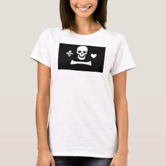 Stede Bonnet flag women's t-shirt