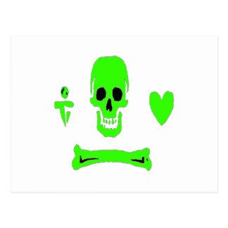 Stede Bonnet-Green Postcard