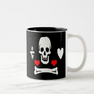 Stede Bonnet-Hearts Mug