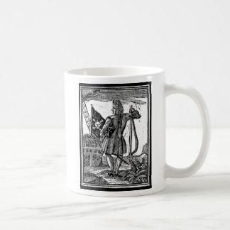 Stede Bonnet Pirate Portrait Coffee Mug