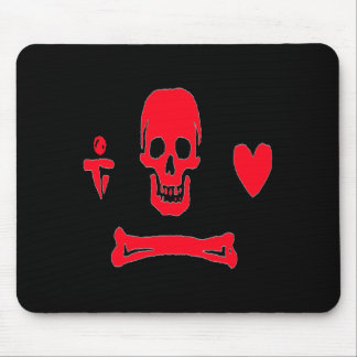 Stede Bonnet-Red Mouse Pad