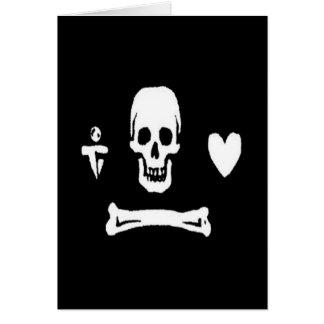 Stede Bonnet-White Card