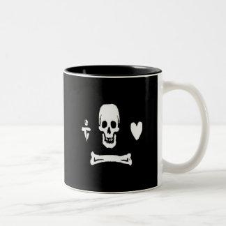 Stede bonnet-White Two-Tone Coffee Mug