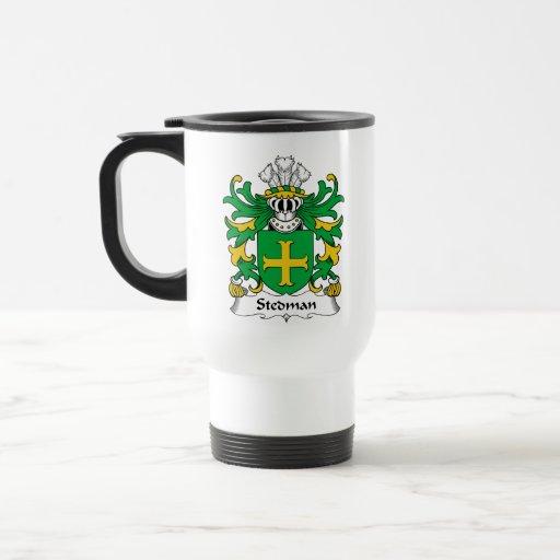 Stedman Family Crest Coffee Mugs
