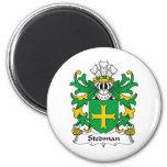 Stedman Family Crest Fridge Magnet