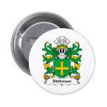 Stedman Family Crest Pinback Button