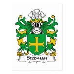 Stedman Family Crest Post Card