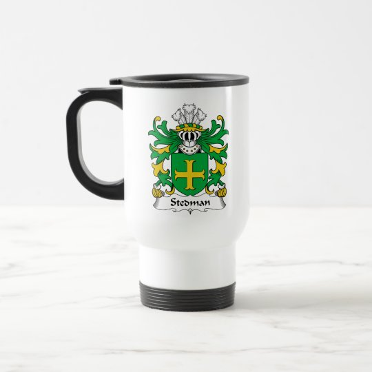 Stedman Family Crest Travel Mug