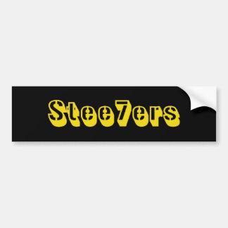 Stee7ers Bumpersticker Bumper Sticker