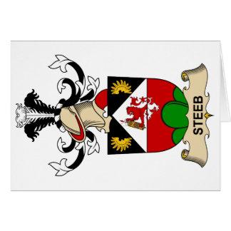 Steeb Family Crest Card