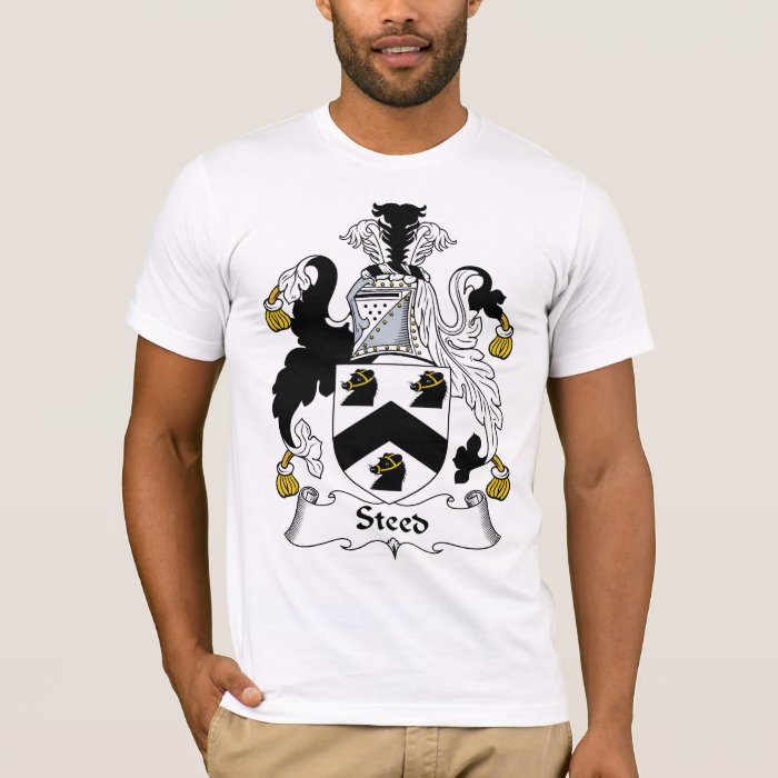 Steed Family Crest T-Shirt