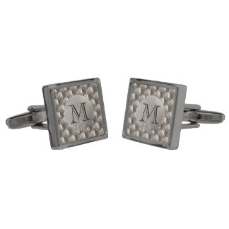 Steel 0132 gunmetal finish cufflinks