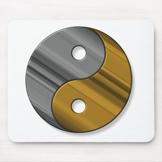steel and brass mouse pad
