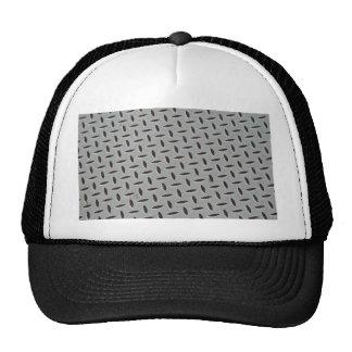 Steel background trucker hats