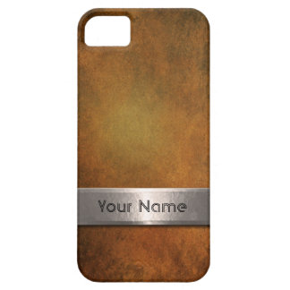Steel Bar Name Plate iPhone 5 Cover
