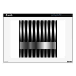 steel bars background laptop skin
