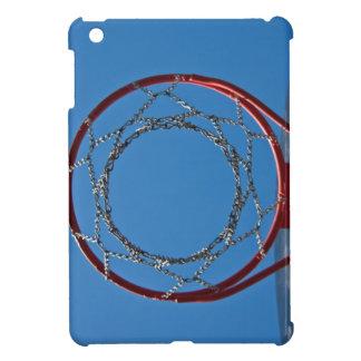 Steel basketball hoop iPad mini cover