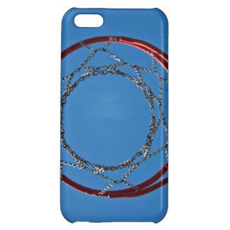 Steel basketball hoop iPhone 5C cases