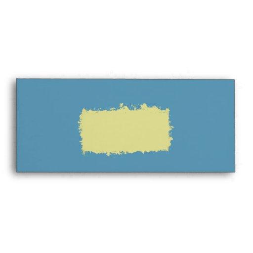 Steel Blue Invitation Envelope #10