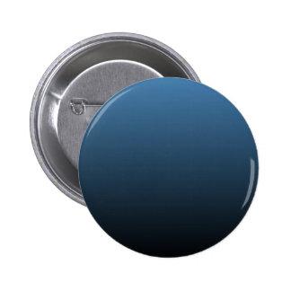 Steel Blue to Black Horizontal Gradient Pinback Buttons
