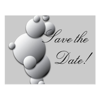 Steel Bubbles Save the Date! Postcard