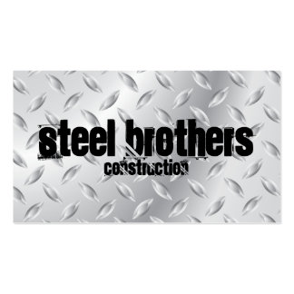 Steel Double-Sided Standard Business Cards (Pack Of 100)