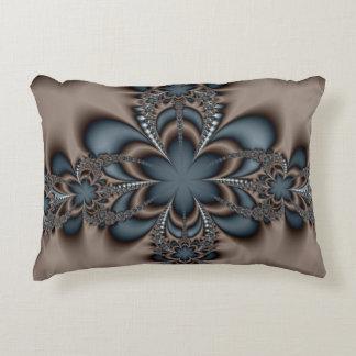 Steel butterflower decorative pillow