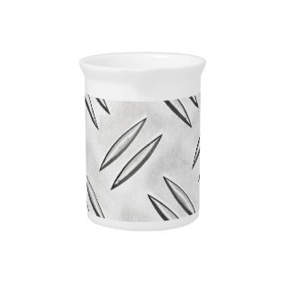 Steel checker plate pitcher