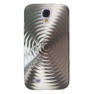 Steel Circular Metal Waves Samsung Galaxy S4 Case