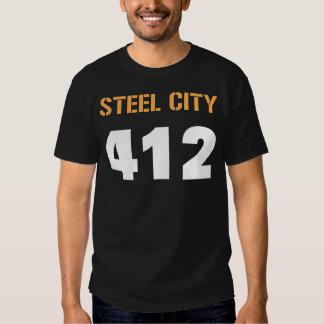 STEEL CITY 412 TEE SHIRT