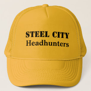 STEEL CITY Headhunters Trucker Hat bc420adcd3f