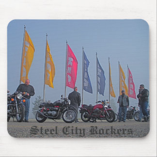 Steel City Rockers Mouse Pad